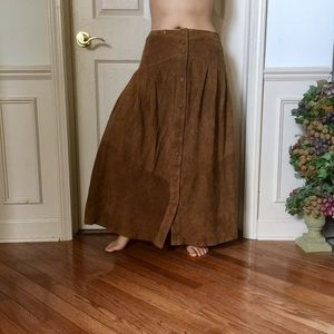 Overland Outfitters Genuine Suede Skirt